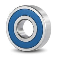 Ceramics / Hybrid Stainless Steel Miniature Deep Groove Ball Bearing SS C 683 2RS TN 3x7x3 mm