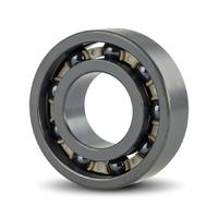 Full Ceramic Deep Groove Ball Bearing CE6000-Si3N4-PEEK open 10x26x8 mm