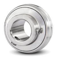 Stainless Steel Radial Insert Ball Bearing SS UC212 - Shaft: 60 mm