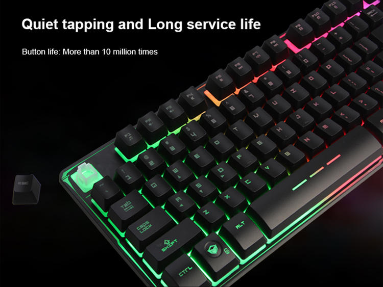 Meetion wholesale rgb gaming keyboard supplier-3