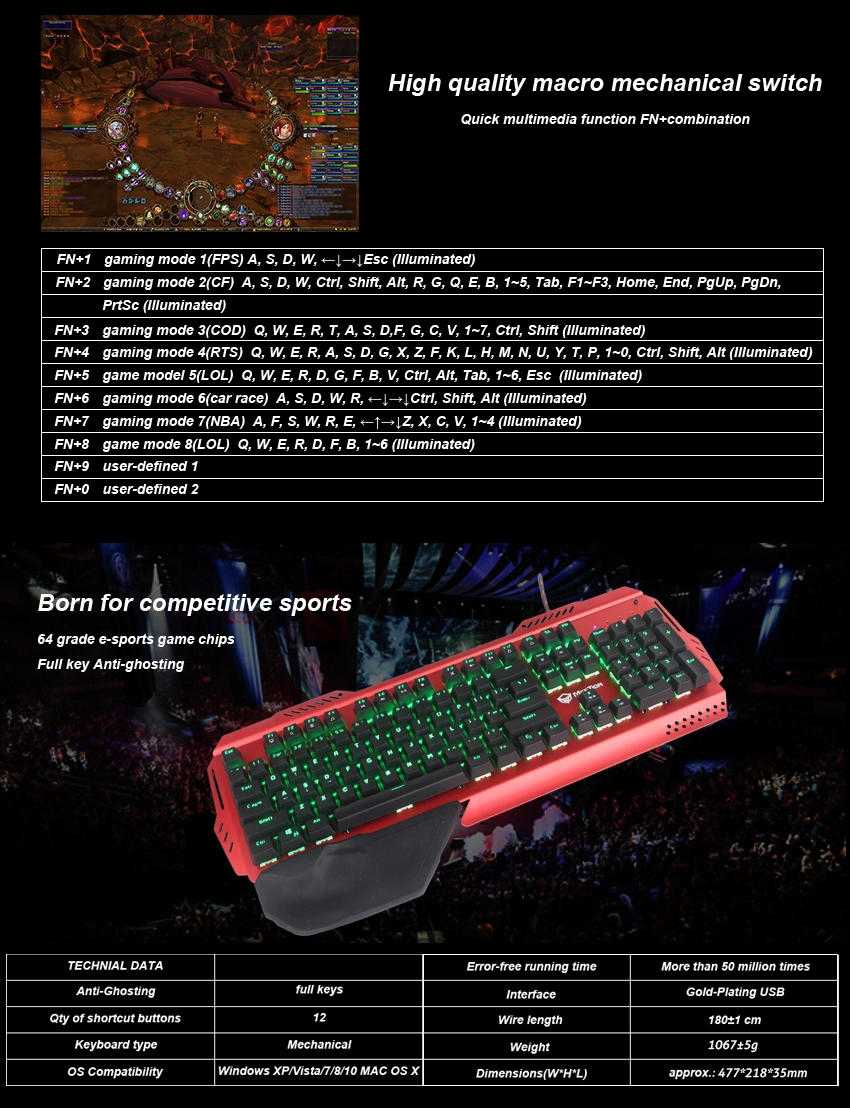 Meetion best mechanical gaming keyboard company-3