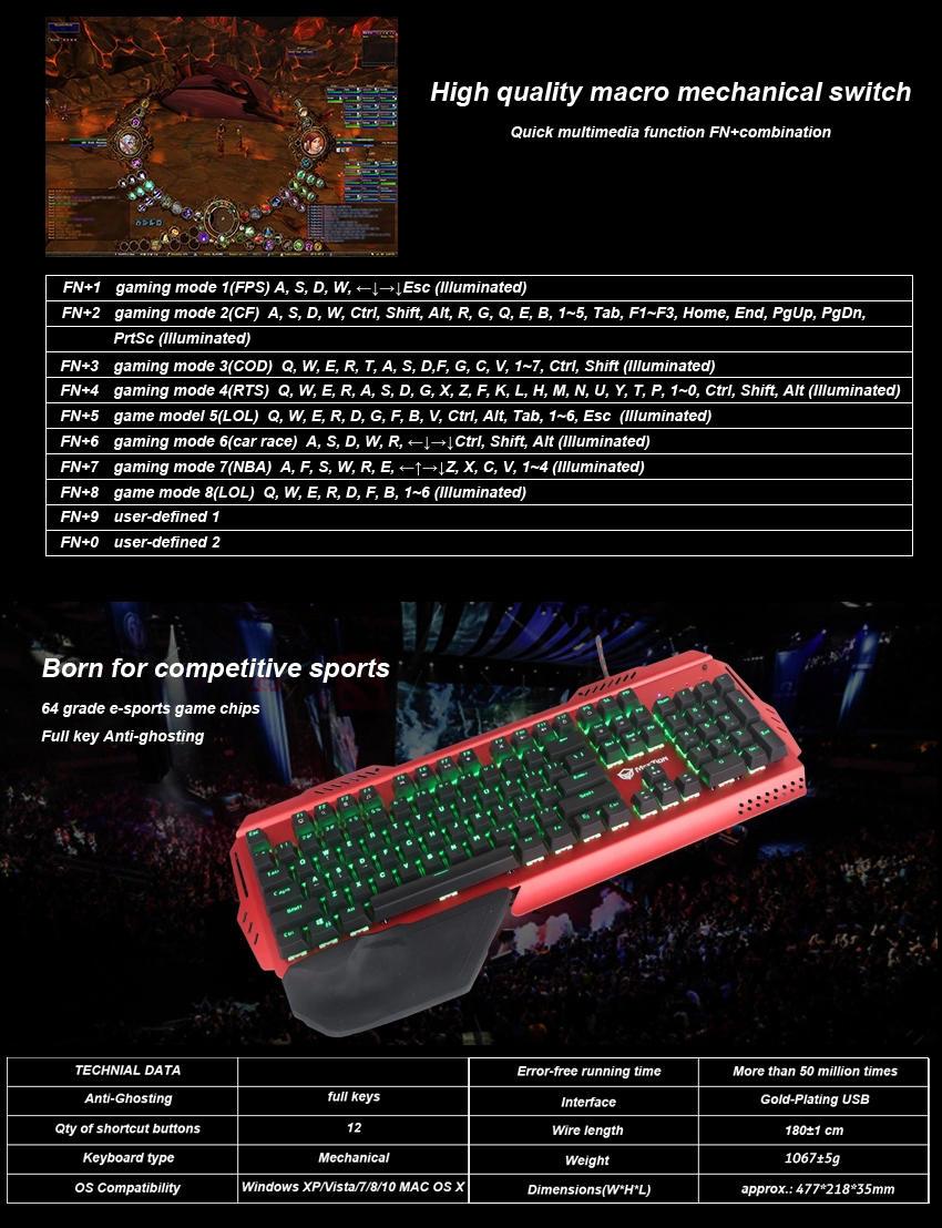 Meetion bulk buy pro gaming keyboard supplier-3