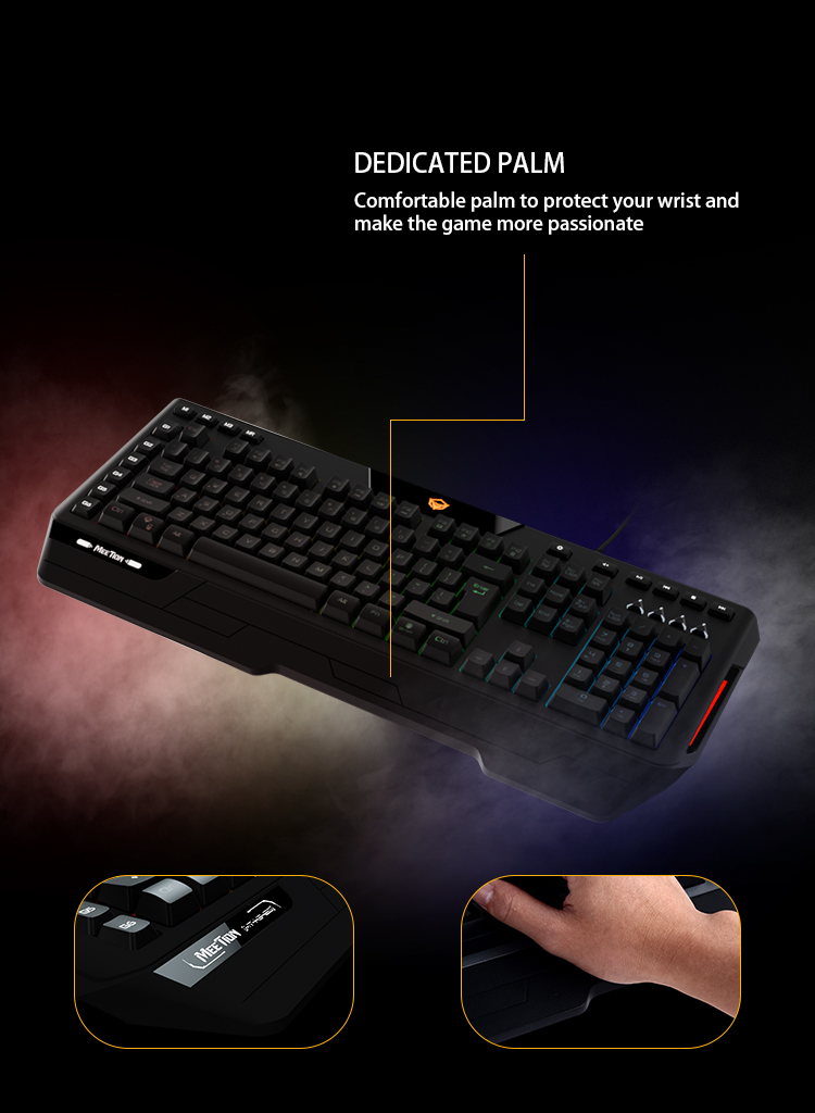 Meetion bulk buy led keyboard supplier-5