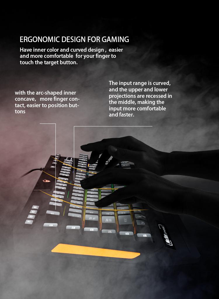Meetion bulk buy led keyboard supplier-6