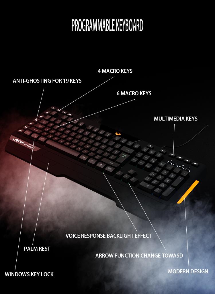 Meetion bulk buy led keyboard supplier-8