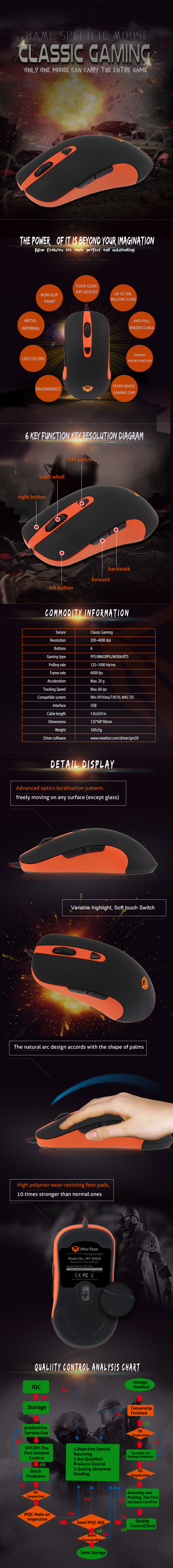 bulk purchase gaming computer mouse company