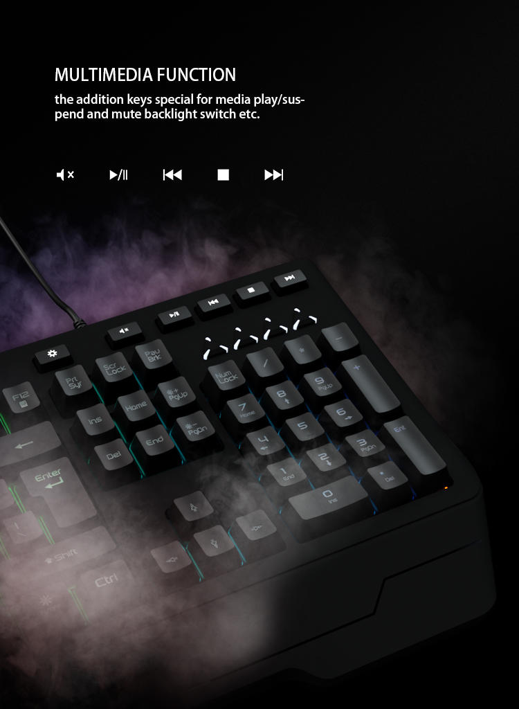 Meetion bulk buy led keyboard supplier-3