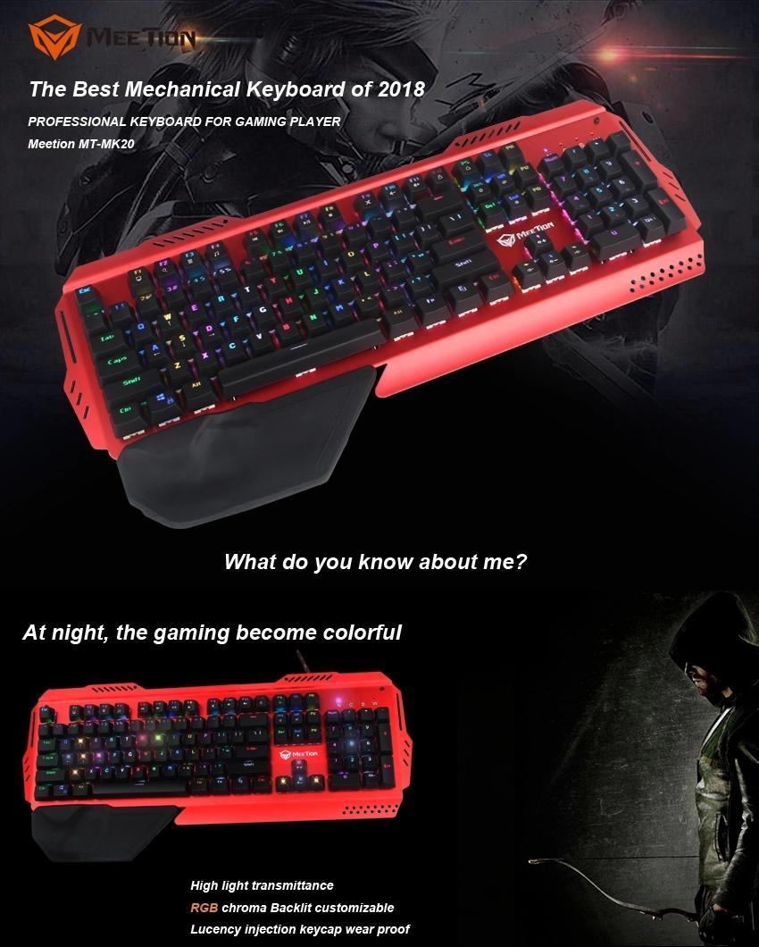 Meetion best mechanical gaming keyboard company-1
