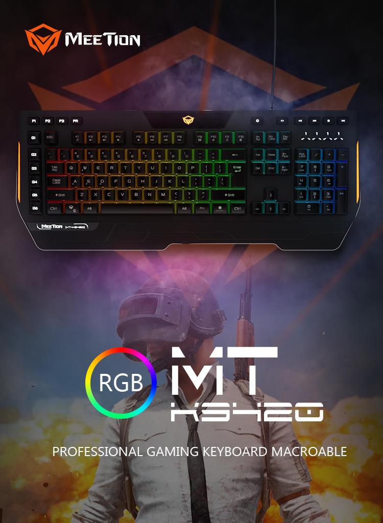 Meetion bulk buy led keyboard supplier-1