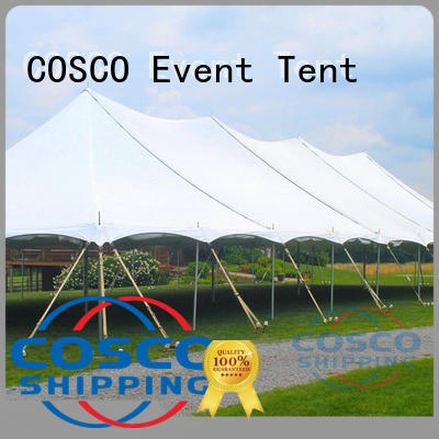 COSCO aluminum gazebo tents for sale vendor for disaster Relief