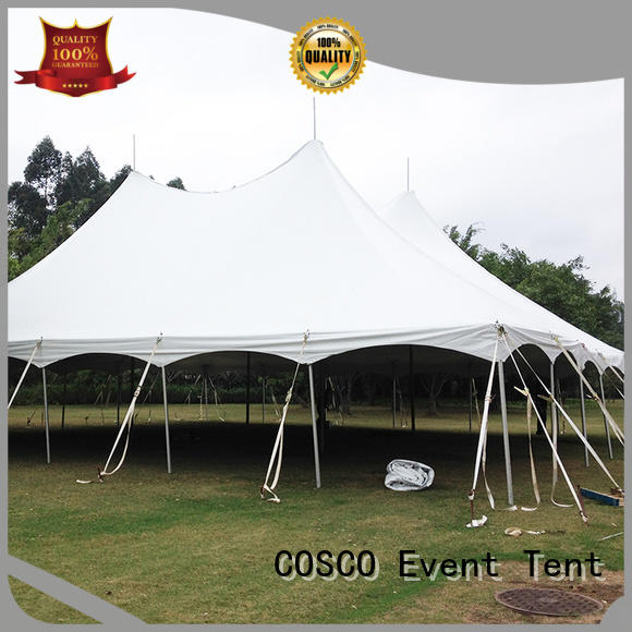 COSCO splendid wedding canopy vendor for disaster Relief