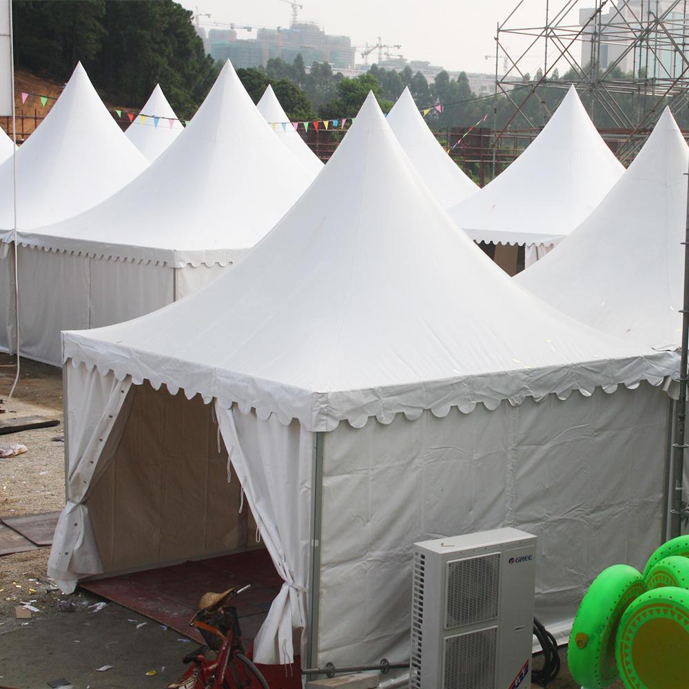 COSCO Customized Size Pagoda Tent 5x5m Outdoor Aluminum Gazebo Tent