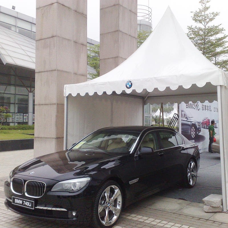 COSCO Supplier Aluminum PVC UV Resistance Car Show Tent