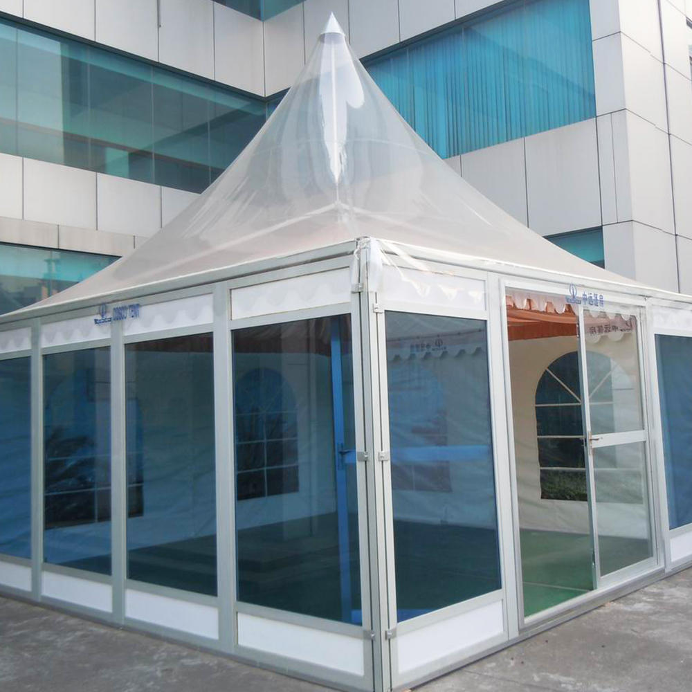 China 3x3,4x4,5x5,6x6,8x8,10x10 White Rustless Pagoda Tent on the Square
