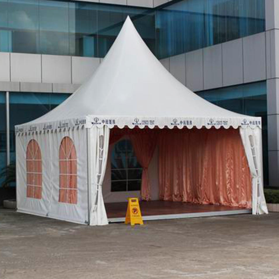 6x6 Garden Wedding Party High Peak Pagoda Canopy Tent for Sale