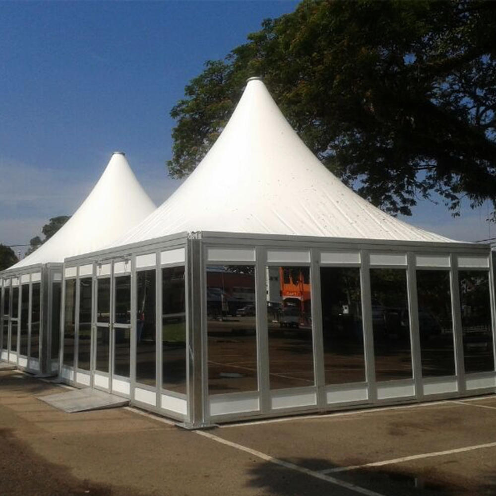 3X3m, 5X5m, 10X10m Pagoda Tent for Trade Show and Advertising