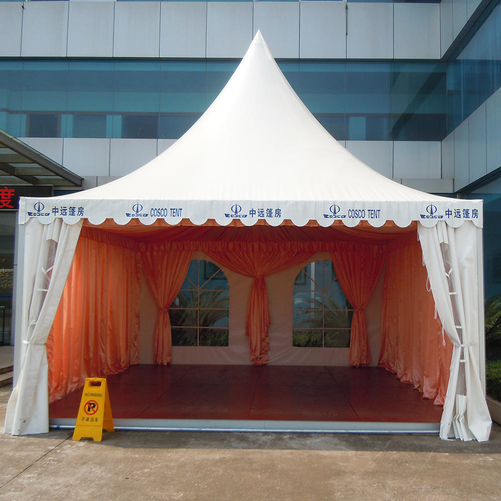 Hot sale new design wedding big event 6x6 pagoda outdoor winter party tent for sale