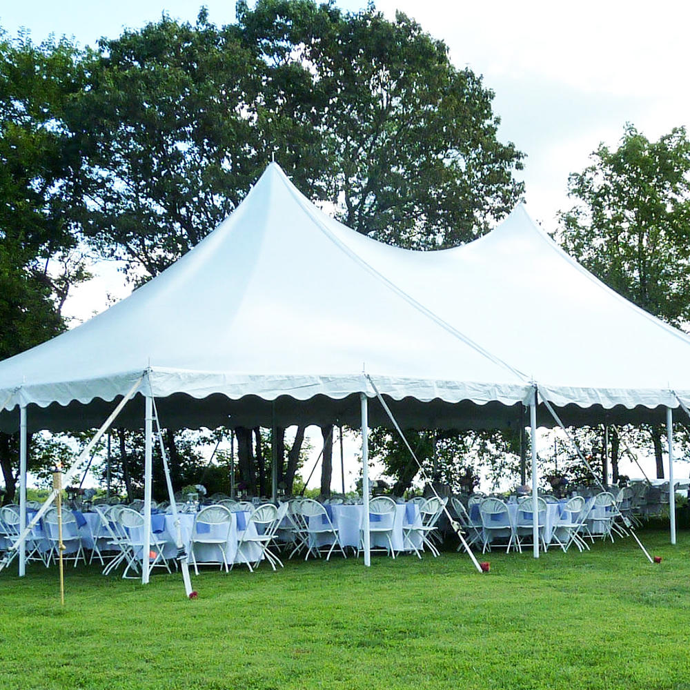 COSCO Clear Span Outdoor Wedding Party Event Tent For 100 People With Lining decoration