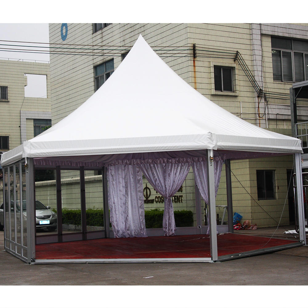 Aluminum 5 x 5 pagoda party gazebo tents for sale outdoor tent for event