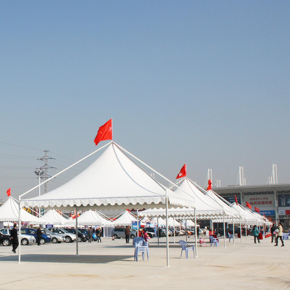 COSCO Outdoor Aluminum Frame PVC Coated Canopy Tent gazebo tent 4x4
