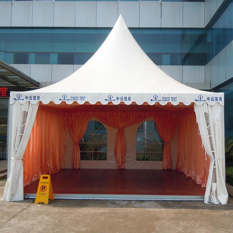 Outdoor Aluminum PVC Canopy Pagoda Tent 8x8 canopy tent