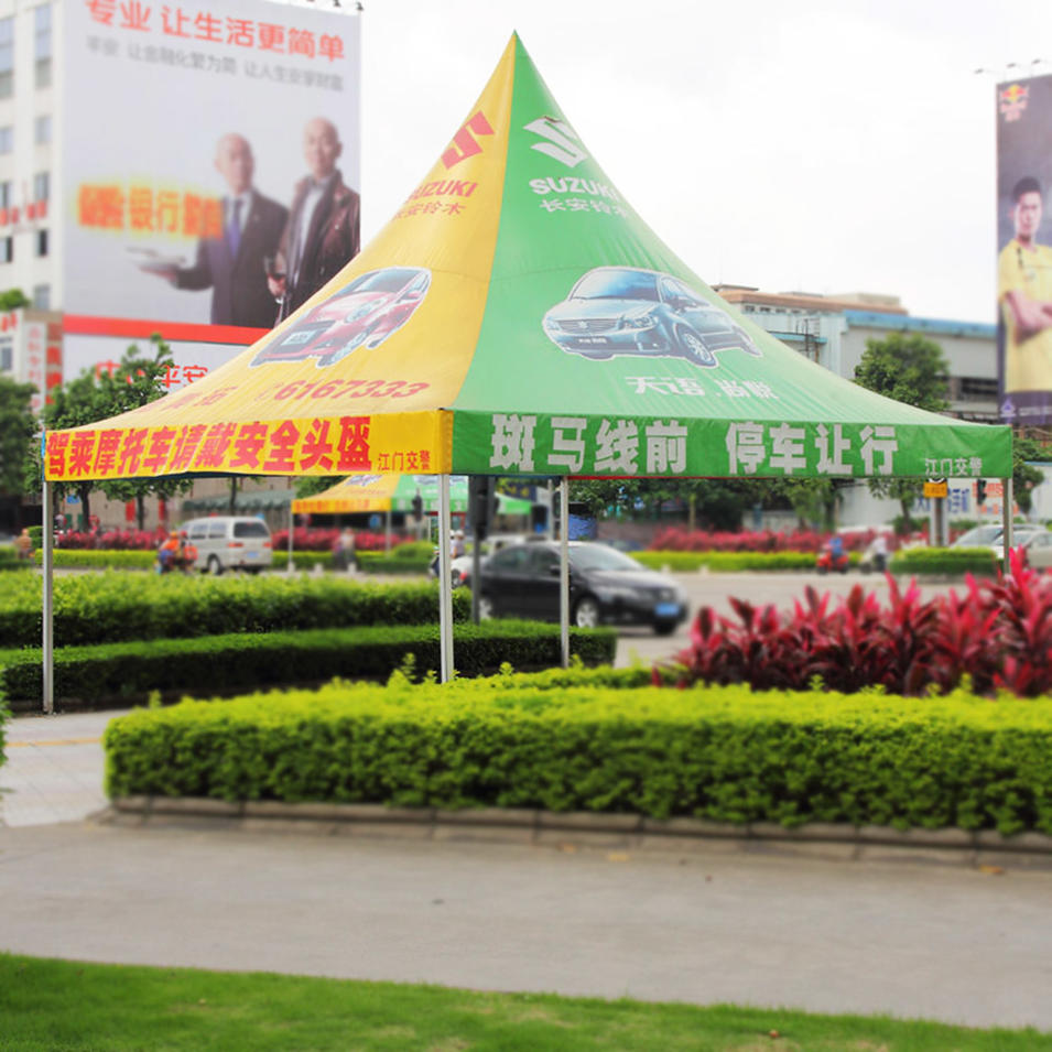 Outdoor Steel / Aluminum Folding Pop Up Advertising Trade Show Event Tent