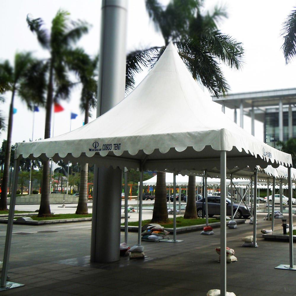 Premium Aluminum Heavy Duty Wind Resistant Canopy 10X10 Custom Tents