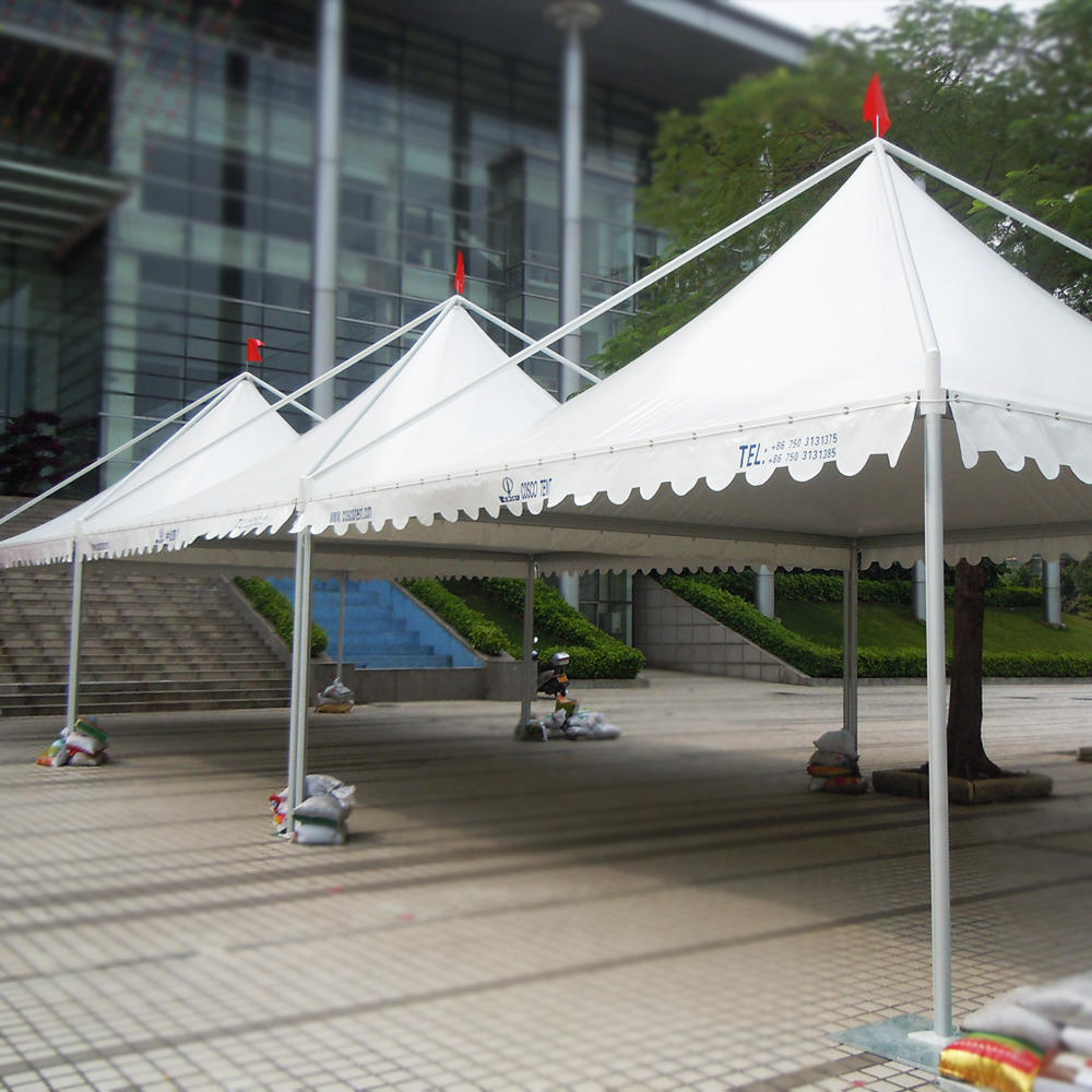 Waterproof pole 8 persons tent fast Delivery portable pagoda folding tents
