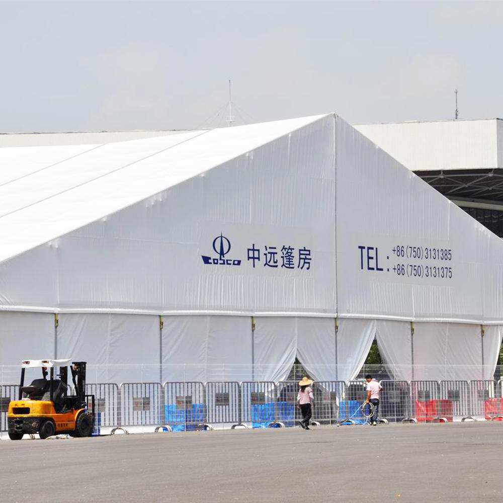 Hot Sale Outdoor Event Waterproof White Big Clear Span Church Tents With Windows For Donation
