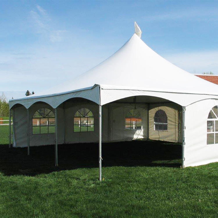 COSCO Outdoor Wedding Party White Marquee Canopy Tent Aluminum PVC Marquee Event Tent