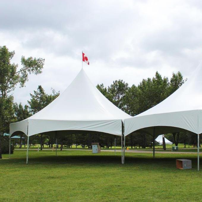 Canada Design Easy Assemble Modular High Peak Metal Aluminum Frame Tent