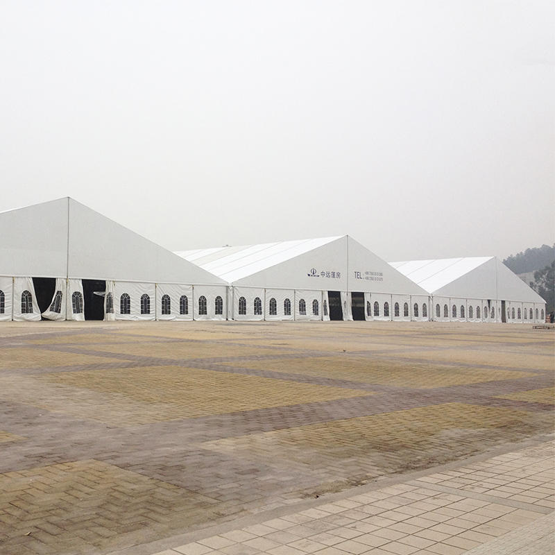 COSCO Outdoor Aluminum Structure Giant Wedding Party Marquee Tent Clear Roof Top Wedding Tent