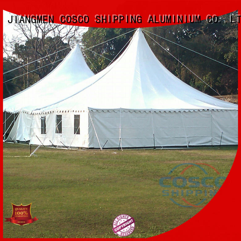 COSCO 6x6m event tent long-term-use pest control
