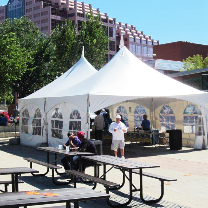Custom Aluminum Pinnacle Marquee Tent For Commercial Event