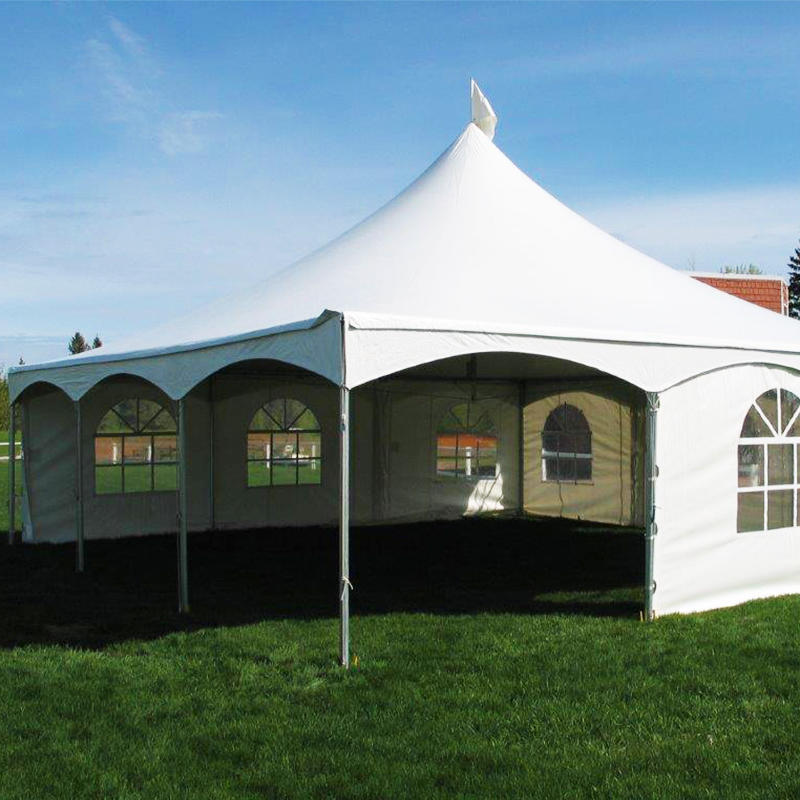 High Peak Marquee Aluminum Frame Tent Double Top Tension Tent