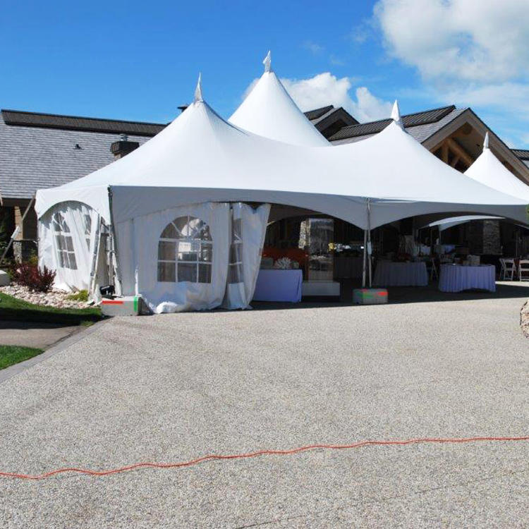 Modular Aluminum Frame Waterproof Canopy Marque Outdoor Party Tent