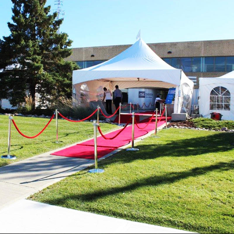 Frame party tent 6x6m aluminum frame for outdoor wedding ceremony event