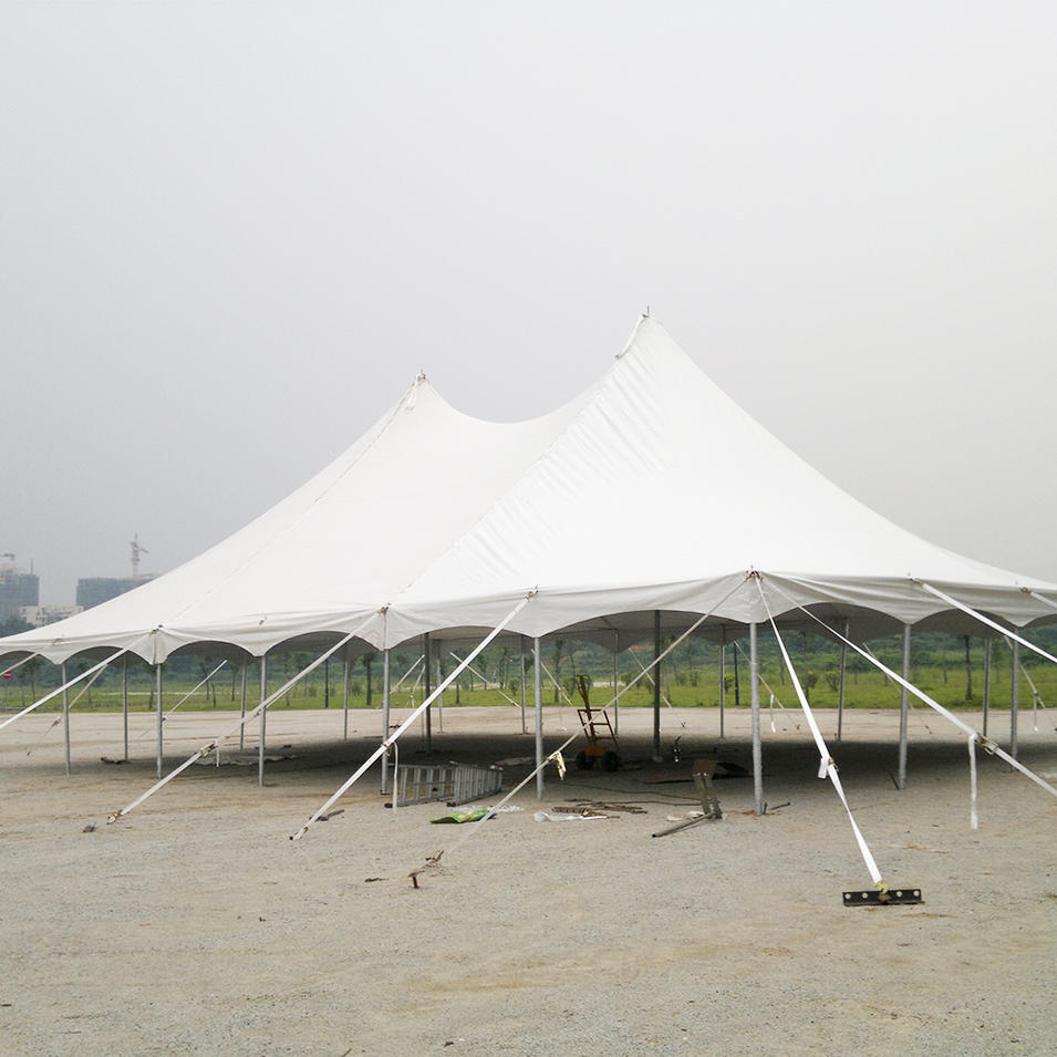 COSCO Custom 12x12m Aluminum Peg and Pole Tent Large Marquee Canopy Tent