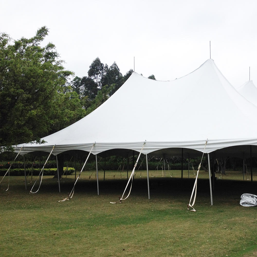 COSCO Custom Outdoor Waterproof Aluminum PVC Peg and Pole Tent Wedding Party Event Canopy Tent