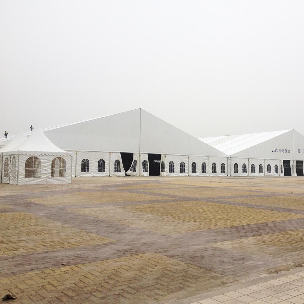 COSCO Windproof Aluminum Huge Marquee Wedding Party Tent Outdoor Event