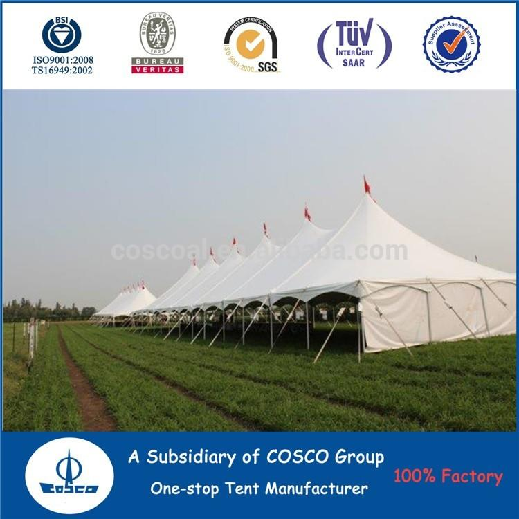 COSCO Aluminium and Pvc coated Custom Size 40ft Pick Up tent Business Marquee Outdoor Pole Tents