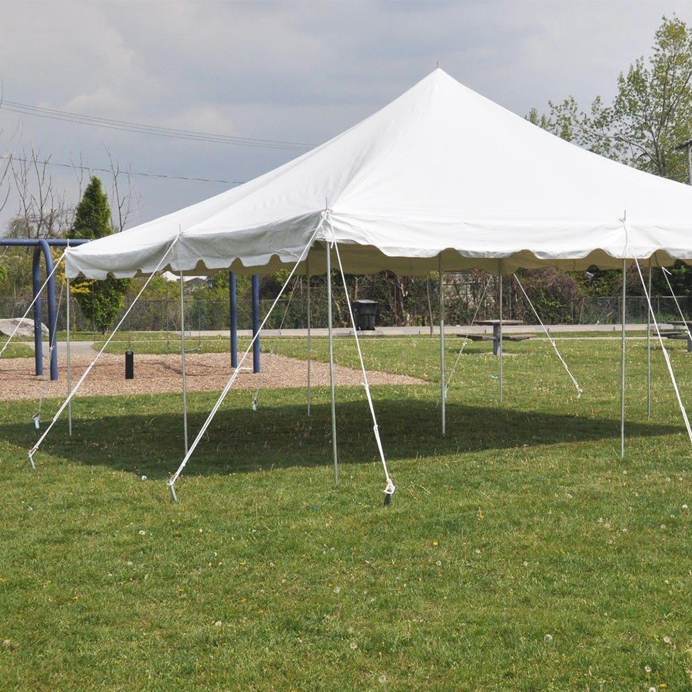 Waterproof Shamiana Pole Tent For Wedding Party