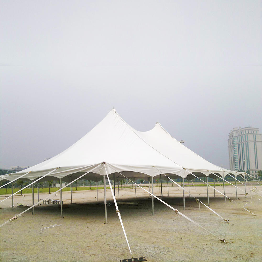 Popular easy up center aluminum alloy peg and pole tent
