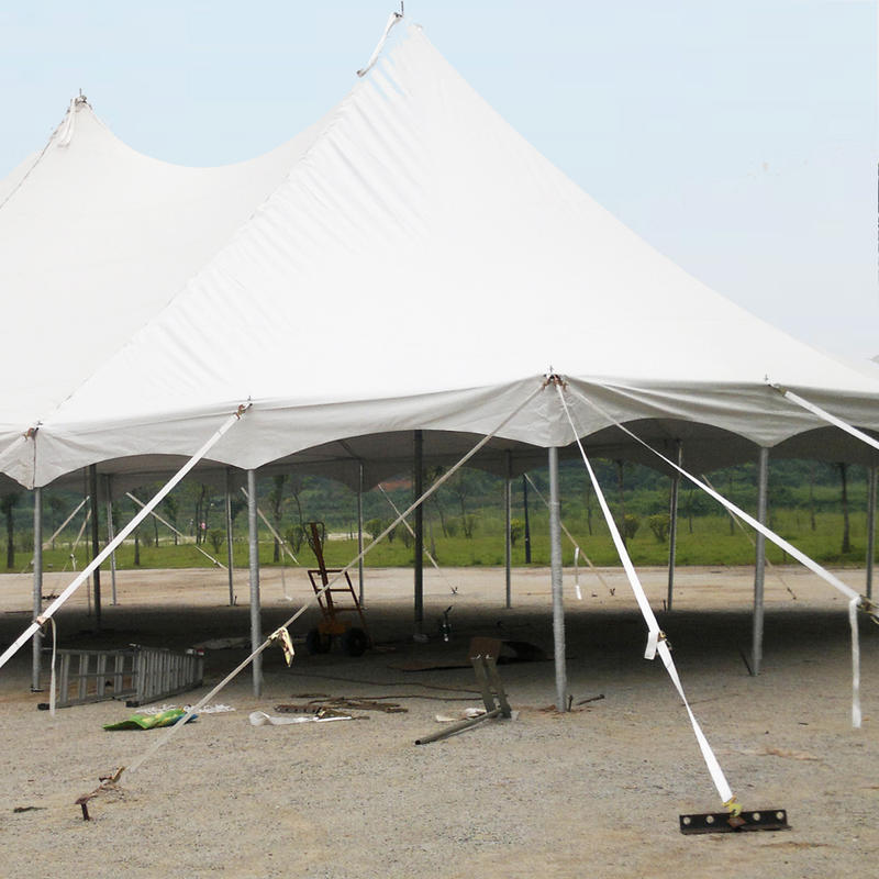 Aluminum medieval circus peg and pole tent manufacturer in China
