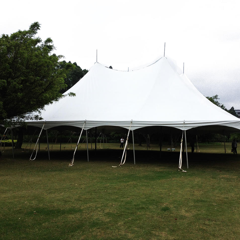 High quality wedding peg and pole tent for outdoor events