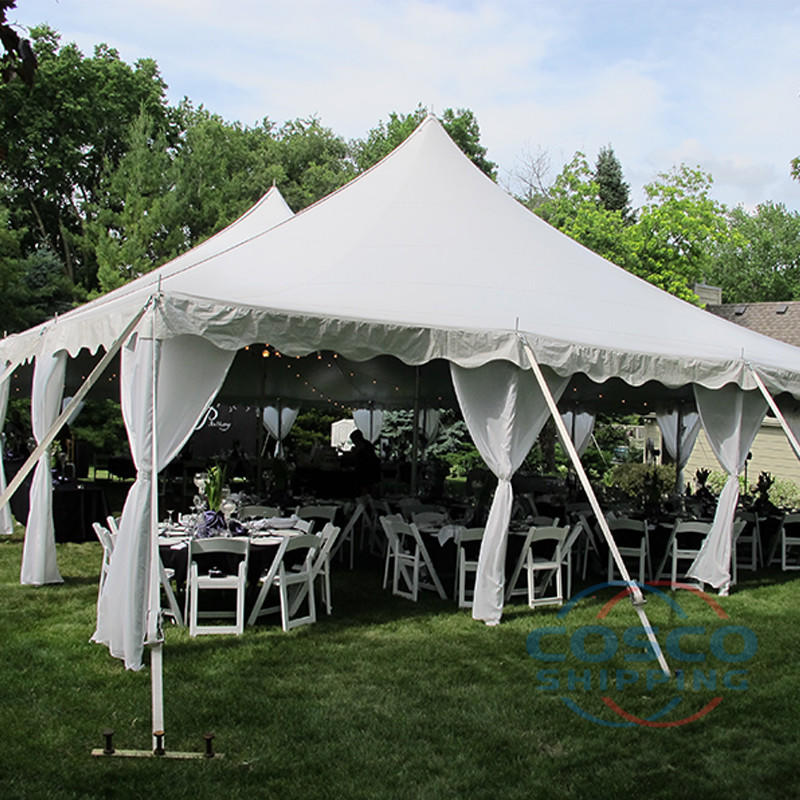 Company exhibition tent outdoor white Party tents for events