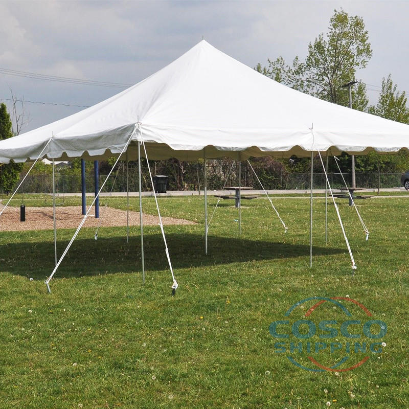 COSCO supplier aluminum pole tents for events Party center pole tent
