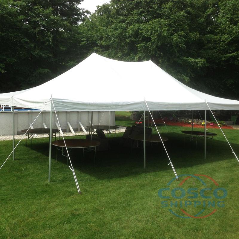 Custom Outdoor Folding Trade Show Display Pole Tent