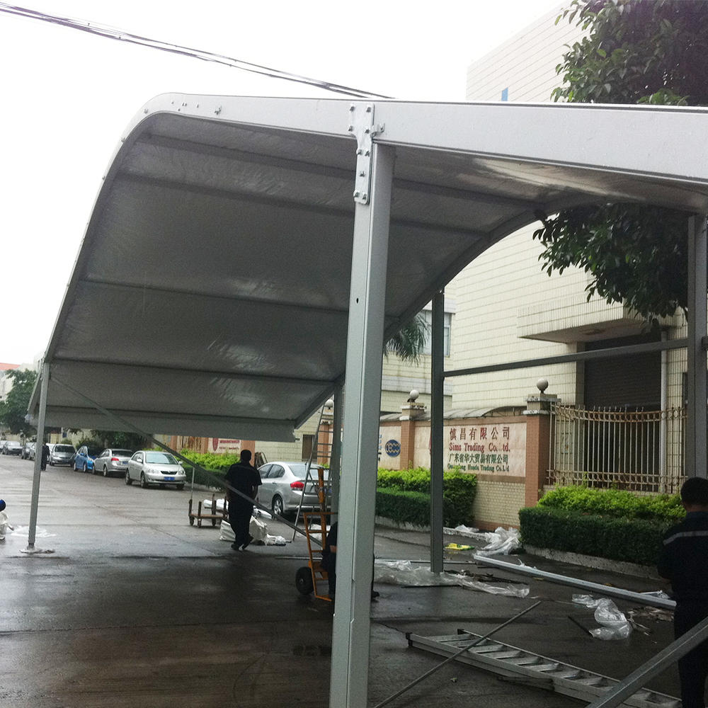 Factory Customized Good Price Durable Outdoor Aluminum Sunproof Car Wash Tent