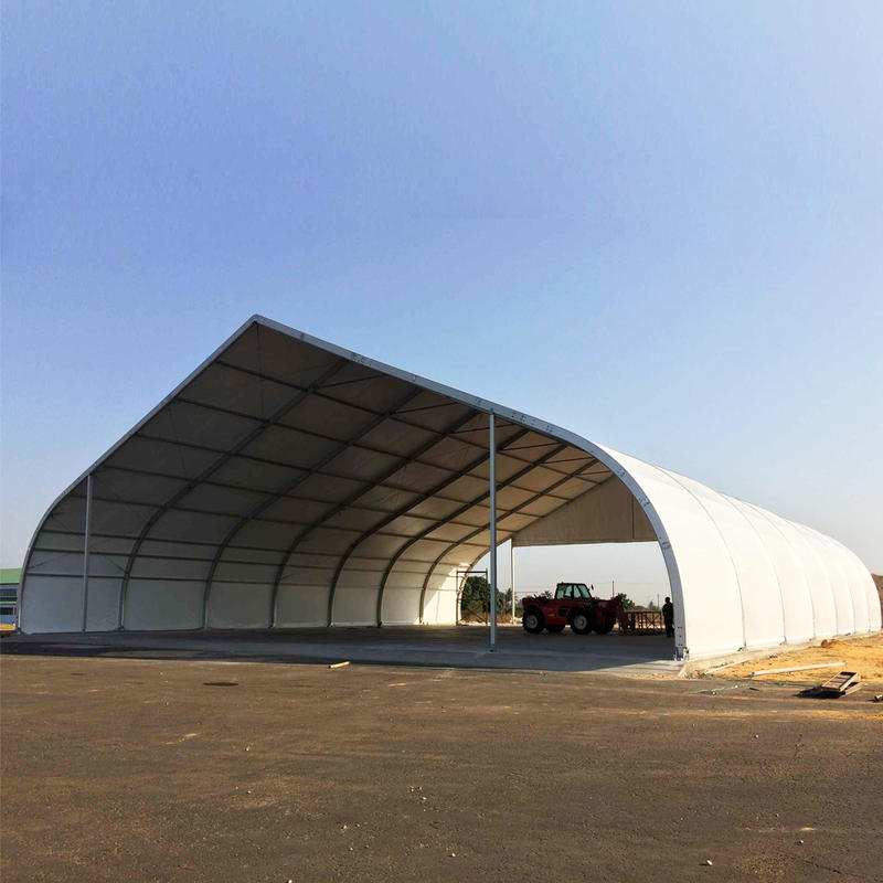 COSCO Aluminum Structure Large Curved Tent Aircraft Hangar Tent